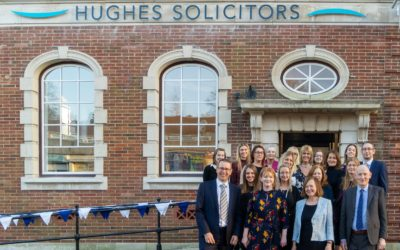 200 guests celebrate the move into a new era for Hughes Solicitors