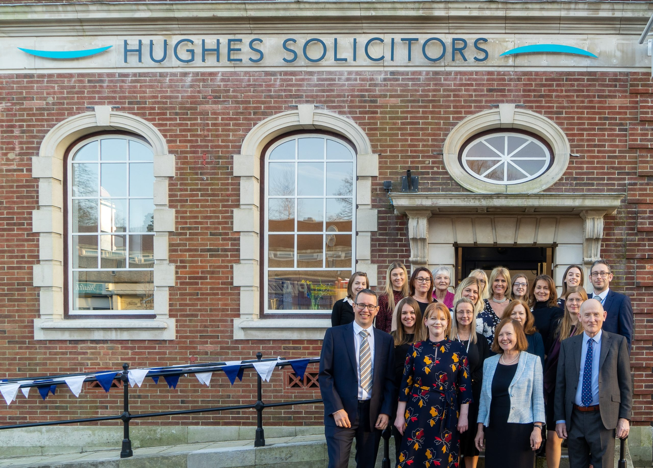 Hughes Solicitors office warming party