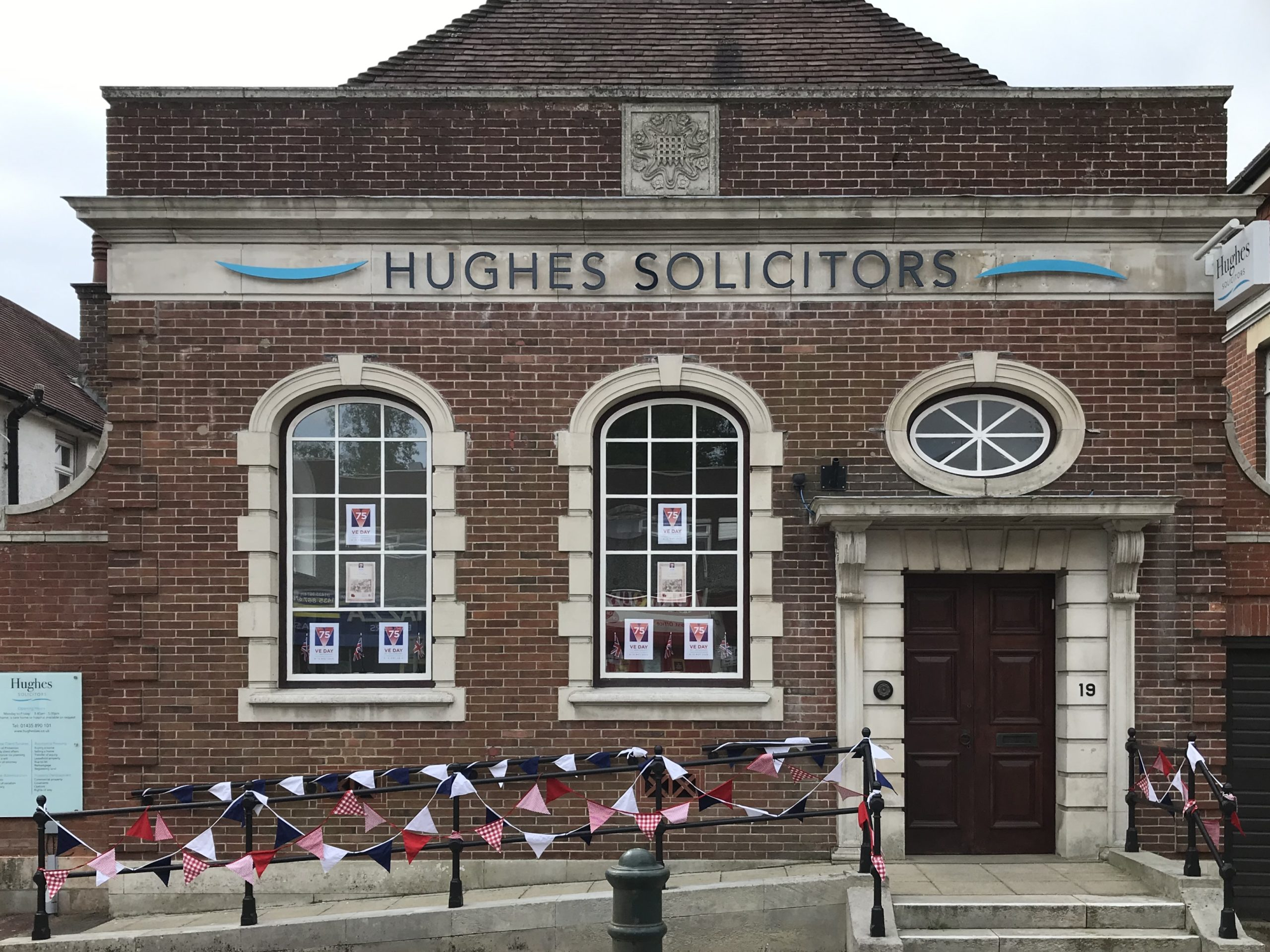 Hughes Solicitors celebrates the 75th anniversary of VE Day