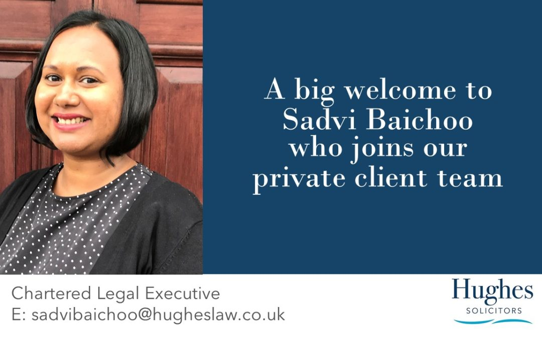 Welcoming a new lawyer to our private client team