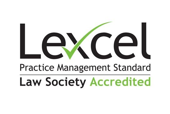Lexcel quality assurance accreditation passed with flying colours