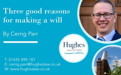 Video: Three good reasons for making a will