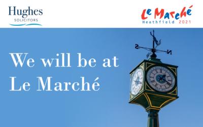 Hughes Solicitors at Le Marché
